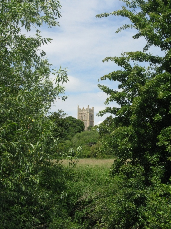 Eye Church from the Pennings Nature Reserve